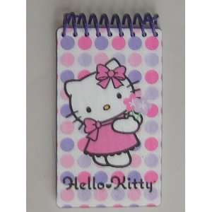 Cute Hello Kitty Mini Lenticular Notebook   60 Sheets