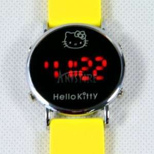 Peggy Jos   Hello Kittys LX078 Soft Silicone Quartz Movement Watch