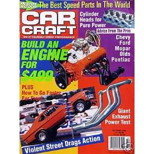 Build an Engine for $499   cover sory   Ocober, 1998