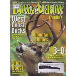 Bow & Arrow Hunting Magazine August 2003 (1 234, West