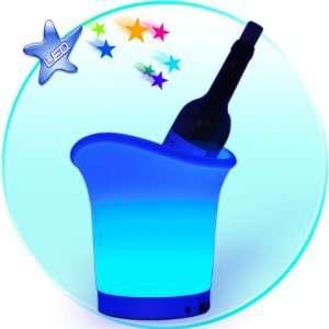Multi Color LED Ice Bucket