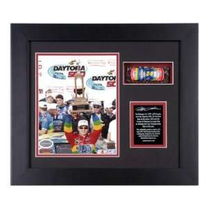 Jeff Gordon 1997 Daytona 500 Shadowbox with Die Cast Car