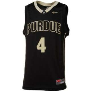 Purdue Boilermakers #4 Nike Youth Basketball Jersey: Clothing