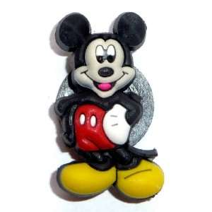 Mickey Mouse standing Disney JIBBITZ Crocs Hole Bracelet Shoe Charm