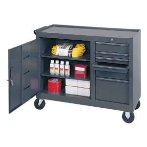 Edsal Mobile Tool Bench (12 13/16 W Drawers): Home