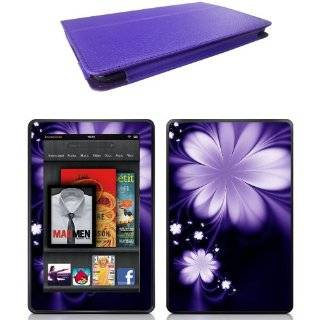 Leather Bold Standby Pouch Case Cover Jacket for  Kindle Fire