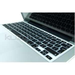 ®   EU/UK BLACK Keyboard Silicone Cover Skin for Macbook / Macbook