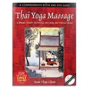 Yoga Book With DVD Thai Massage Book