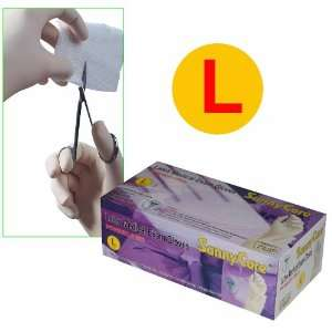 Sunnycare #6603 box Latex Medical Exam Gloves (Powder Free) 100pcs