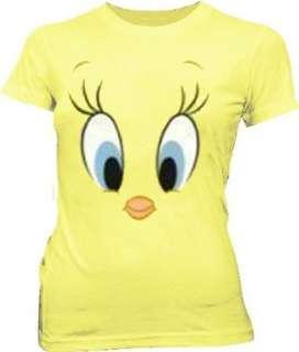 Looney Tunes Tweety Bird Big Face Banana Cream Yellow
