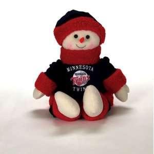 22 MLB Minnesota Twins Plush Snowman Snowflake Friend