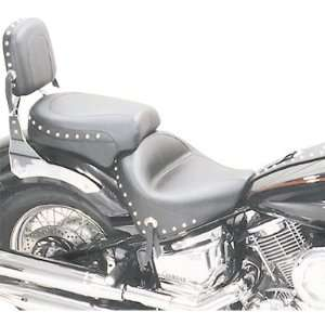 Mustang Wide Touring Seat   Studded   Front 17in.W   Rear