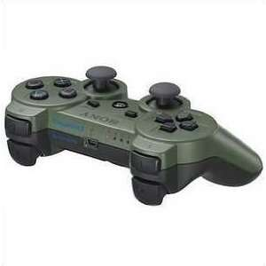 Wireless Bluetooth Controller Sony PS3(Army green)  Players
