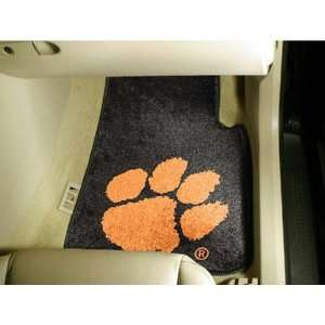 Clemson Tigers NCAA Car Floor Mats (2 Front)  Sports