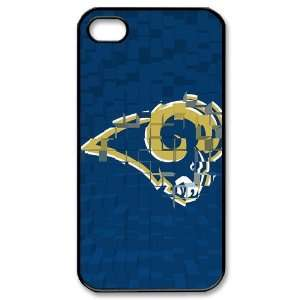 Designed iPhone 4/4s Hard Cases Rams team logo Cell