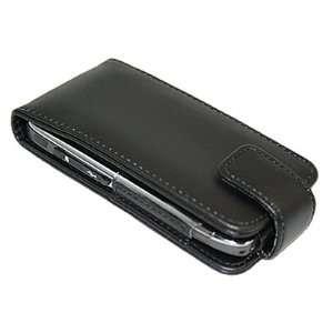 BLACK Flip Case/Pouch/Cover/Protector for Nokia E71 Electronics