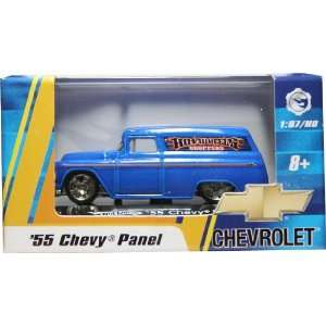 SCALE 55 CHEVY PANEL (BLUE HOT WHEELS CHOPPERS) Hot Wheels Vehicle