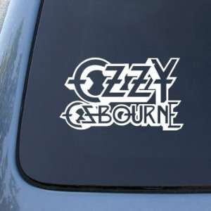 OZZY OSBOURNE   Vinyl Car Decal Sticker #1816  Vinyl Color White