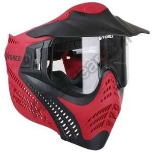 Force Vantage Pro Paintball Goggles   Red  Sports