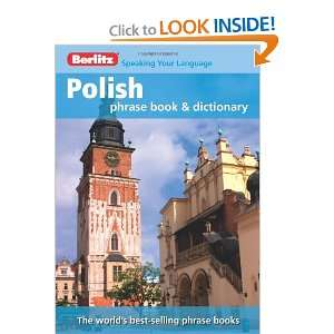 Berlitz Polish Phrase Book & Dictionary (English and Polish