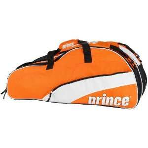 Prince 11 T22 Team 12 Pack Tennis Bag (Orange/White