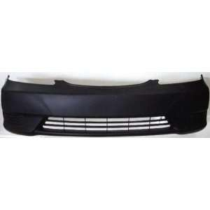 TY04226BD TY1 Toyota Camry Primed Black Replacement Front Bumper Cover