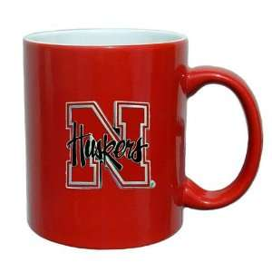 Nebraska Cornhuskers NCAA 2 Tone Coffee Mug Sports & Outdoors