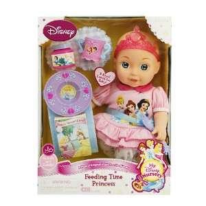 Disney Nursery Doll Set   15 Feeding Time Princess Doll Toys & Games