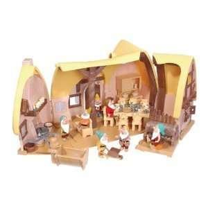 Disney Snow White and Seven Dwarfs Cottage Playset  Toys & Games