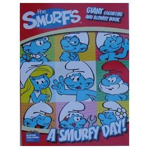 Smurf Giant Coloring & Activity Book (A Smurf Day