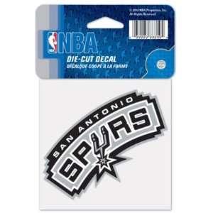 San Antonio Spurs 4x4 Die Cut Decal