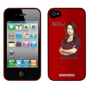 Camile Wray from Stargate Universe on AT&T iPhone 4 Case