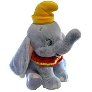 Disney Dumbo Plush Jumbo size Dumbo Stuffed Animal  Toys & Games