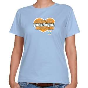 Tennessee Lady Vols Ladies Light Blue Wish Girl Classic
