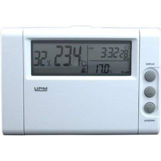 Central Heating/Cooling 5+1+1 Day Programmable Thermostat, White
