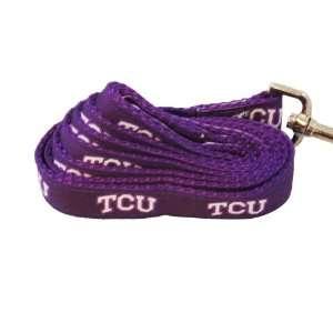 NCAA TCU Horned Frogs Dog Leash