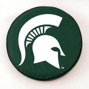 Michigan State Spartans Green Tire Cover, Large