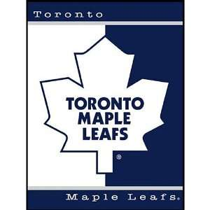Toronto Maple Leafs 60x80 All Star Collection Blanket Throw