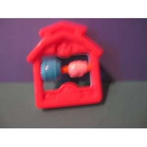 MCDONALD HAPPY MEAL TOY UNDER 3 FISHER PRICE PIG BARN