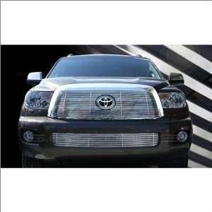 SES Trims Chrome Billet Upper Grille 08 11 Toyota Sequoia Automotive