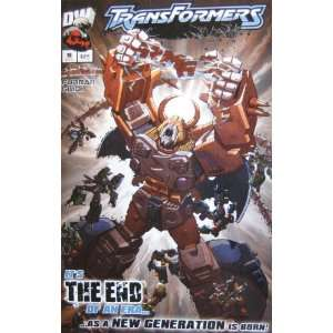 TRANSFORMERS ARMADA, #18, December 2003 (Volume 1): Simon