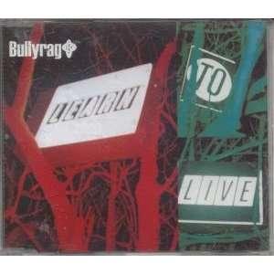 LEARN TO LIVE CD UK VERTIGO 1998 BULLYRAG Music
