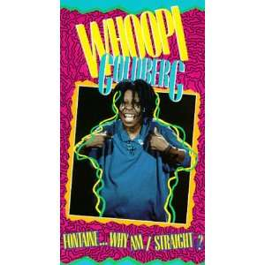 Fontaine Why Am I Straight [VHS] Whoopi Goldberg Movies & TV