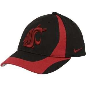Nike Washington State Cougars Youth Black Crimson Team