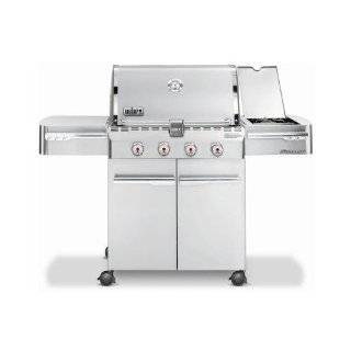 Weber 6650001 Genesis S 310 Natural Gas Grill, Stainless
