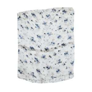 Chinese White Flower Silk Scarf, #12 Everything Else