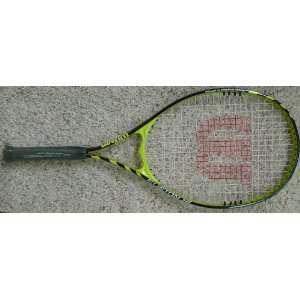 Wilson 4 1/4 V Matrix Fusion XL Tennis Racket W/O Cover: