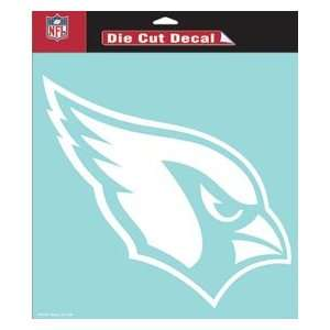 Arizona Cardinals 8in x8in Die Cut Decal