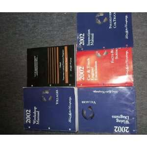 Service Shop Repair Manual SET (Service manual, wiring diagrams
