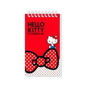 Hello Kitty Sanrio Notepad   Its a Wonderful Day